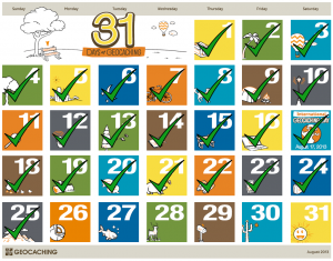 31 Days of Geocaching: Dag 25