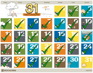 31 Days of Geocaching: Dag 29