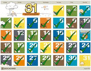31 Days of Geocaching: Dag 30